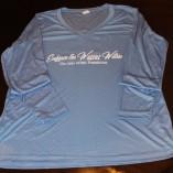 Ladies blue long sleeve