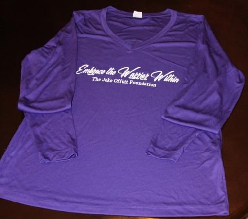 ladies purple long sleeve